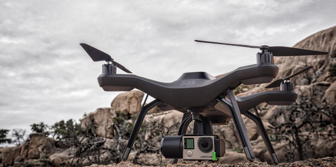 3D Robotic Solo Drone